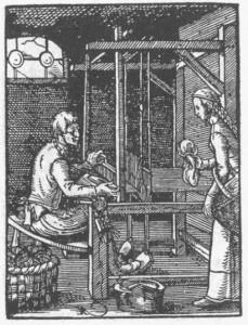 Tisserand-gravure-histoire