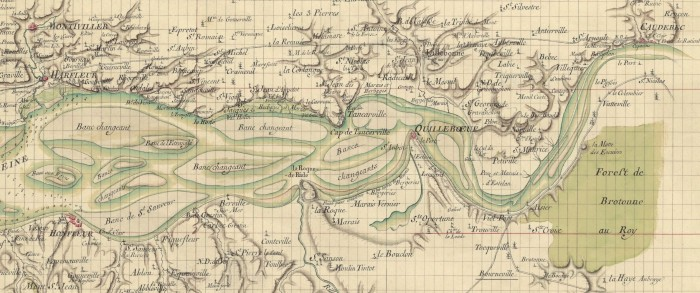 Carte-embouchure-histoire-Seine-navigation