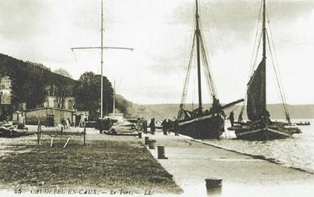 Gribane-Caudebec-en-Caux-histoire-Seine-navigation