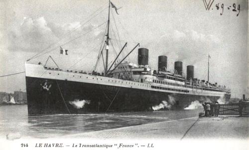 Transatlantique-France-Port-du-Havre