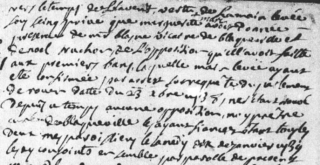 Mariage-Jean-Grandsire-Blacqueville-1739