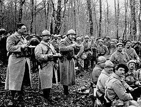 Photo de poilus en 1916