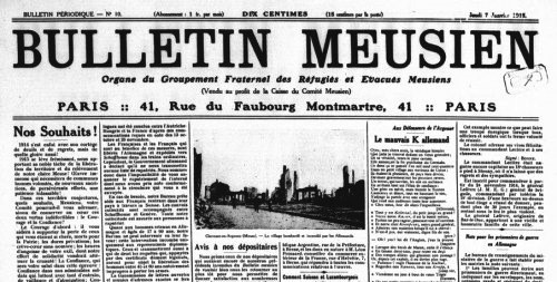 Le Bulletin Meusien (source : Gallica)