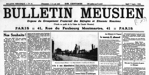 Le Bulletin Meusien (source : Gallica)