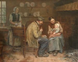 Vie maritale en famille