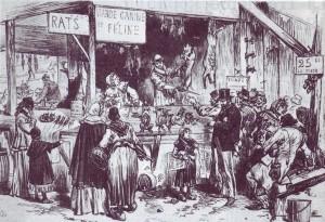 Siege de Paris (1870) - Rats et viande canine