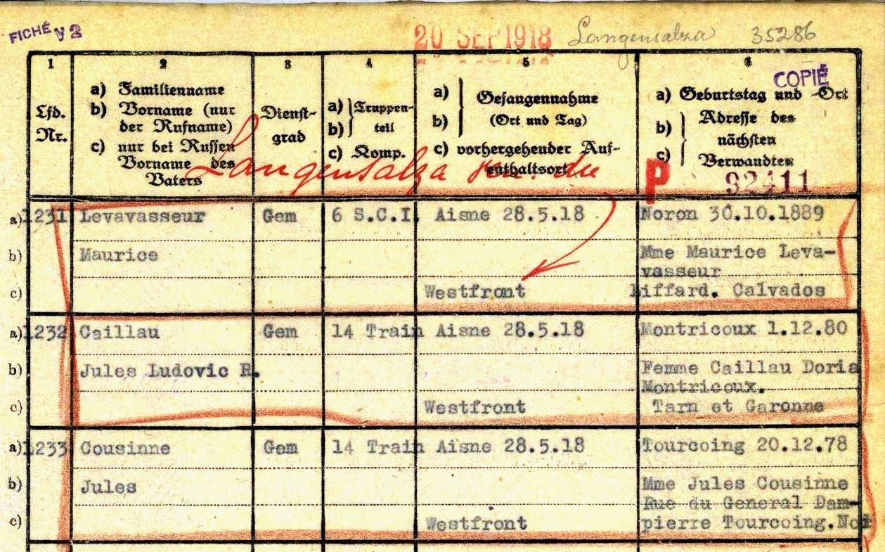 Liste De Prisonniers Archives La Croix Rouge