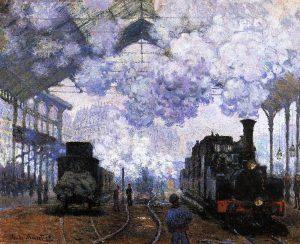 Monet-Gare-Saint-Lazare-Cheminot