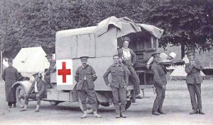 Ambulance de la Première Guerre Mondiale