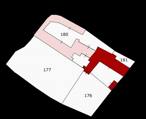 Division de la parcelle n°180
