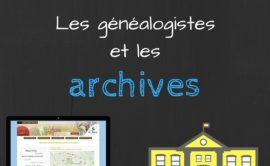 Sondage : les généalogistes et les archives