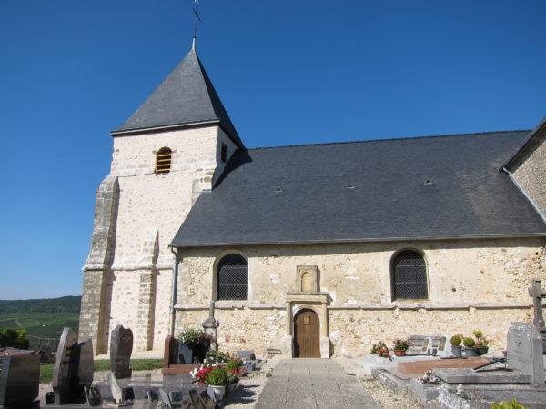 L'église Saint Martin de Chavot (anciennement Montfélix)