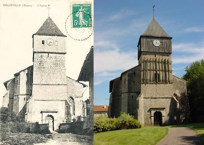 L'église de Gironville