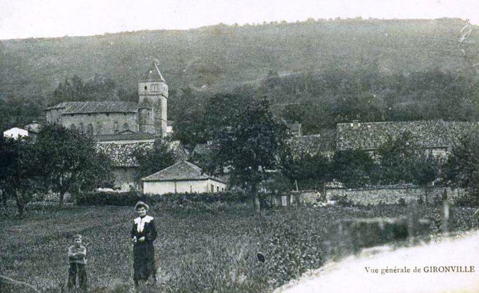 Vue générale de Gironville