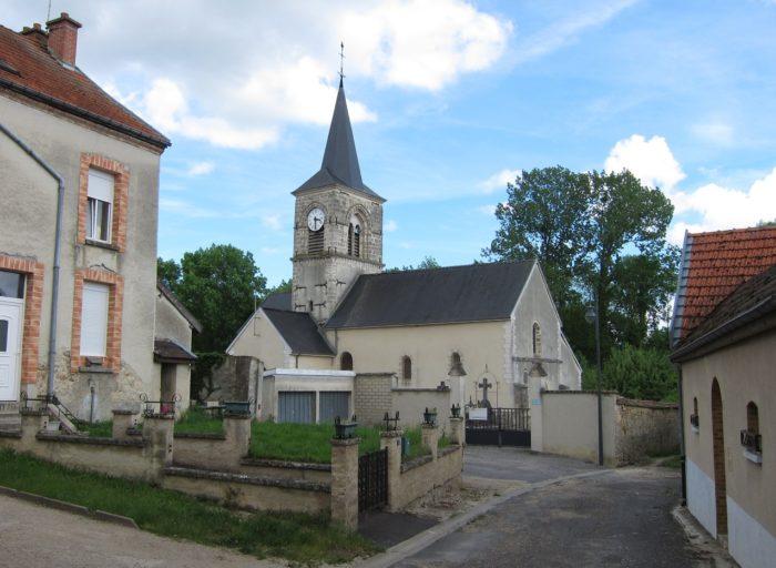L'église de Tauxières