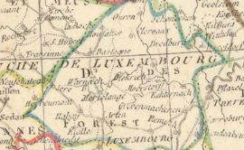 Carte du département des Forêts