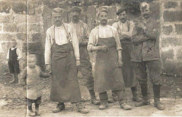 Mon arrière-grand-père lorsqu'il était prisonnier à Hammelburg