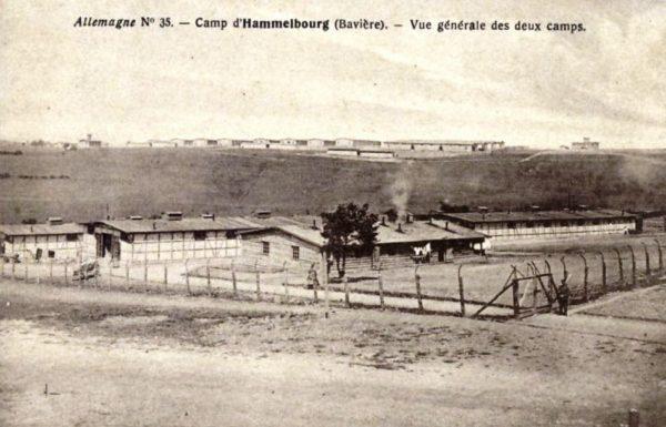 Vue générale du camp de Hammelburg