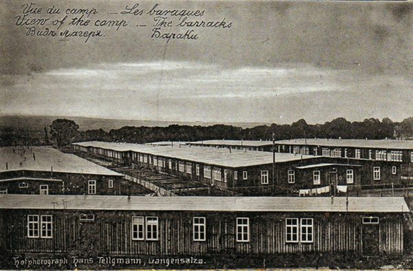 Vue du camp de Langensalza