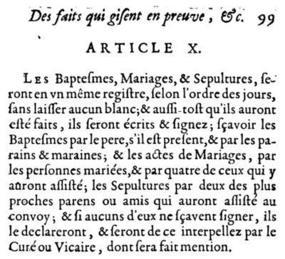 Ordonnance de Saint-Germain-en-Laye (Avril 1667)