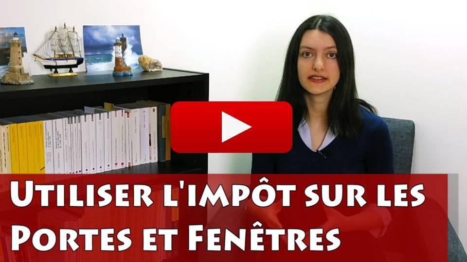 Vidéo : Utiliser l'impôt sur les portes et fenêtres