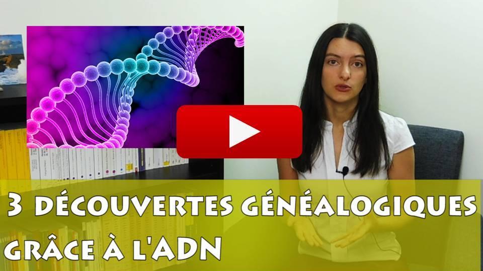 Vidéo de généalogie : résultats de mon test ADN